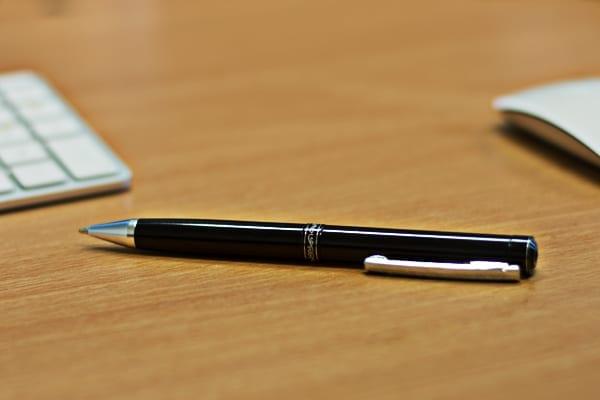 spy gadgets executive and sleek pen