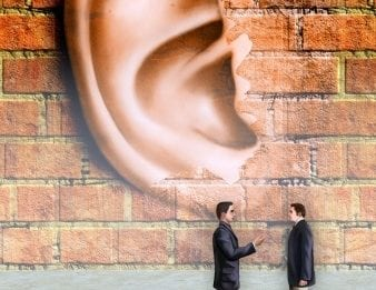 listening in on conversations