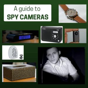 a guide to spy cameras poster