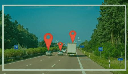 Asset tracker pin cars
