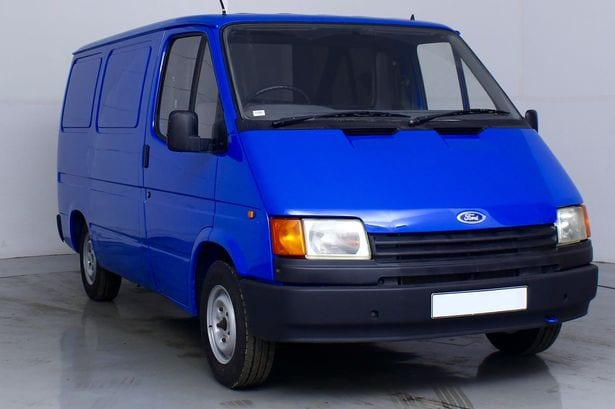 Ford transit spy van