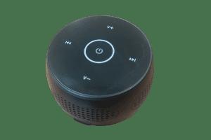 Bluetooth Speaker Camera Top View