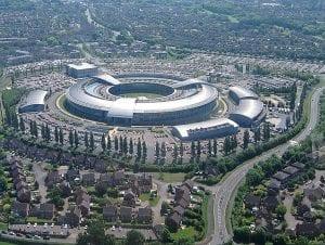 gchq spy centre
