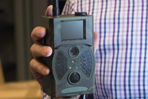 outdoor field spy camera