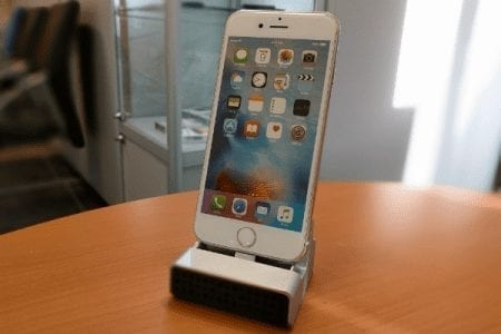 iPhone Charger Dock Camera