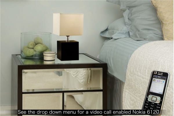table lamp surveillance tool in room