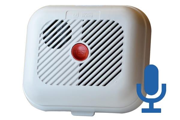 Smoke Alarm Recorder Voice Activated Voice Recorders